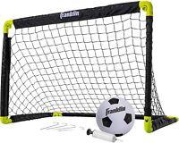 Franklin Sports Kids Mini Soccer Goal Set-Backyard/Indoor Mini Net and Ball, NEW