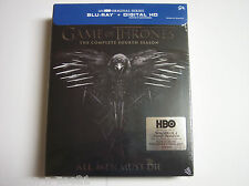 Game Of Thrones: The Complete Fourh Season, Season 4, Blu-ray 2015 ( Brand New)