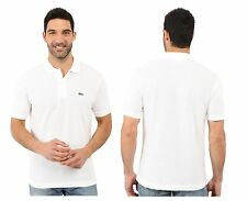 LACOSTE BRAND MENS  Black, White L1212 Classic Pique Polo Shirt Tee All Sizes
