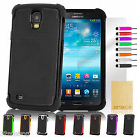 NEW SHOCK PROOF CASE COVER FOR SAMSUNG GALAXY MEGA i9200 + FREE SCREEN PROTECTOR