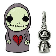 Skullgnome Genuine Sterling Silver Solid Charm OHM Bead AAX004