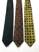 Jhane Barnes LOT OF 3 Men's Silk Neck Ties