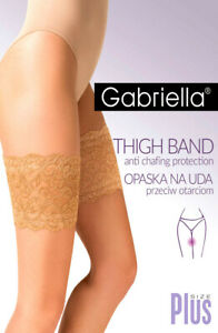 GABRIELLA Stockings Stay Ups Sizes M-L & XL-2XL Color