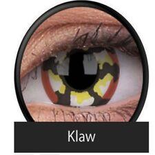 Crazy Contact Lenses Lentilles Kontaktlinsen Fun Halloween Red Klaw Special item