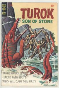 July 1970 TUROK SON OF STONE #70 Gold Key comic book RIVER BEASTS! Fine