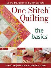 Una puntada Quilting-los conceptos básicos: 20 divertido proyecto.. por Zarzamora, Donna del libro en rústica
