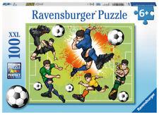 """Ravensburger 10693  """" Im Fußballfieber """" 100 Teile XXL Puzzle, NEU & OVP"""