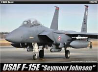 Academy 1/48 USAF F-15E Seymour Johnson Strike Eagle Plastic Model Kit 12295