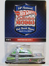14th Nationals Ghostbusters Ecto-1 Zamac 2014 Hot Wheels rare vhtf convention
