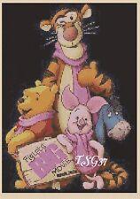 Cross Stitch Chart - disney Wiinnie the Pooh No.1- No 353b.TSG37 .......