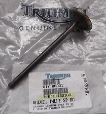 New Genuine Triumph Daytona  Trident Sprint Tiger Inlet Intake Valve T1130160