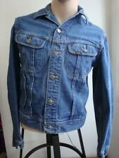 VINTAGE EARLY 70s LEE RIDERS SANFORIZED DENIM JACKET UNION MADE IN USA
