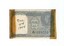 New listing India - One (1) Rupee 1940