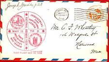 USA National Air Mail Week, Norwood, Mass  5/19/38- Pilot signed