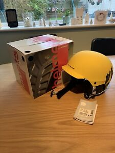 Atomic Troop Ski/Snowboard Helmet Yellow 55-56cm