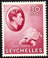 Seychelles1938 carmine 30c chalk-paper multi-script mint SG142