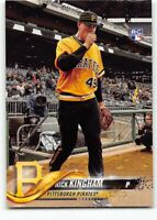 2018 Topps Update Short Print Variation SP #US201 Nick Kingham RC Pirates