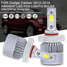 ABRIGHT 5202 2504 LED Fog Driving Lights Bulbs Kit for Dodge Caliber 2012-2010