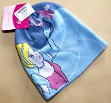 BONNET bleu ENTIEREMENT DOUBLE cendrillon princess disney FILLE princesses NEUF