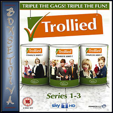 TROLLIED - COMPLETE SERIES 1 2 & 3 **BRAND NEW DVD BOXSET ***