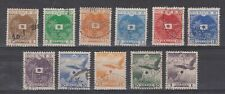 Indonesia Borneo Grote Oost JB 1-11 used Japanse bezetting Japanese occupation