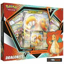 More details for pokemon dragonite v box collection new & sealed inc booster packs & promo cards