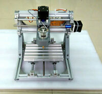 US DIY Mini 3-Axis CNC Router Engraver Carving Machine for PCB PVC Milling Wood