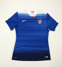 Nike Dri-Fit Womens Soccer Jersey USA National Team 2015 Blue Size Large