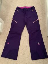 The North Face Steep Series Womens Purple Snow Pants Salopettes Size M