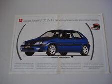 advertising Pubblicità 1997 CITROEN SAXO