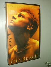 "LEONARDO DI CAPRIO "" THE BEACH - VHS Videocassetta   film Thriller"