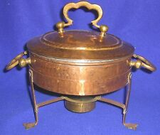 Hammered Copper Chafing Dish - SHIPPING INCLUDED