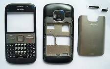 Full Housing Cover Facia Fascia Faceplate case for nokia E5 black