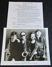 THE UPTOWN HORNS—1994 PRESS KIT—PHOTO