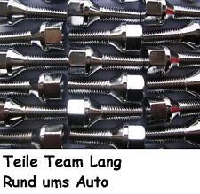 10 x Chrom Radschrauben Radbolzen M12x1,5x40 mm Kegel SW17 VW BMW Opel SR407C