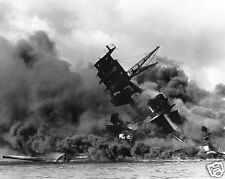 Pearl Harbor Bombing USS Arizona  World War 2 WWII 8 x 10 Photo Picture
