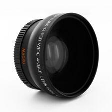 Albinar .45x Wide Angle Lens + Macro fo Nikon D5300 D5200 D3200 D3100 D90 camera