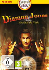 DIAMON Jones and the Amulet of the World (Pc, 2011, DVD-Box)