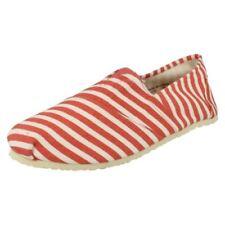 Zapatos informales de hombre en color principal rojo talla 43