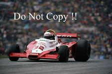 Keke Rosberg Theodore Racing Wolf WR3 Austrian Grand Prix 1978 Photograph 1