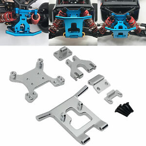 Upgrade Fitting Metal Front Guard Bumper Shock Tower for Wltoys 124018 1:12 RC