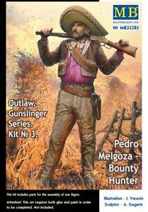 Masterbox 1/35 Modèle Kit 35205 Outlaw, Gunslinger Series - Kit No.3