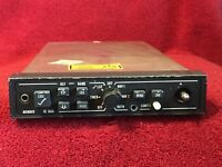 BENDIX/KING GC 360A RADAR GRAPHICS UNIT P/N 071-1313-10 WITH TRAY AND CONNECTOR