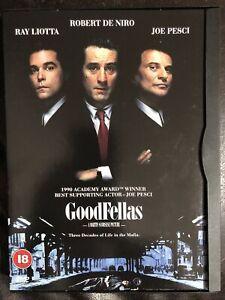Goodfellas DVD Region 2 Robert De Niro Joe Pesci Ray Liotta Snap Case