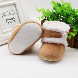 Warm Newborn Shoes Toddler Boots First Winter Baby Girl Boys Soft Sole Anti Snow