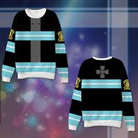 Enn enn no Shouboutai Fire Force Anime Unisex Hoodie Casual Shirt Sweatshirt