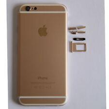 iPhone 6 / 4,7'' Backcover Housing Gehäuse Rahmen Gold inkl. Schalter + Werkzeug