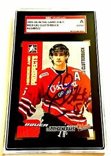 CAL CLUTTERBUCK SIGNED 2005/06 HEROES AND PROSPECTS CARD #410 SGC AUTHENTICATED