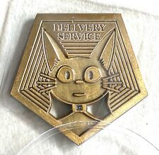 "Bruce Yan Miyazaki "" Kiki'S Delivery Service "" Antique Gold Token Spirited Away"