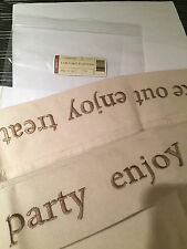 Longaberger~ Flax Fabric Liner (ONLY) for Cake Basket NIP